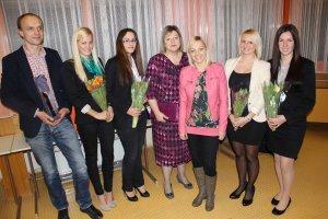 Projektteam mit Direktorin OStR Mag.a Dorner-Resch und Mag. Böck